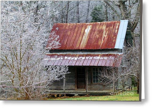 Historic North Carolina Cabin Greeting Card