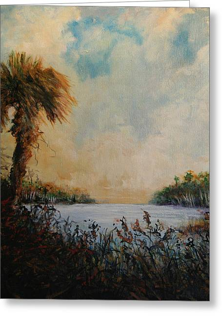 Historic Palm Greeting Card by Michele Hollister - for Nancy Asbell
