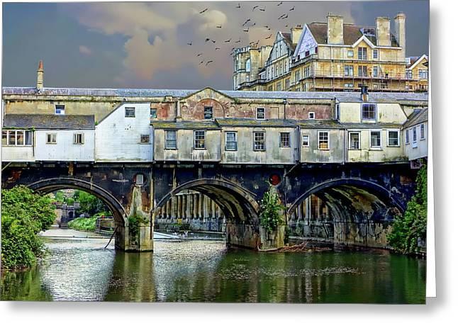 Historic Pulteney Bridge Greeting Card