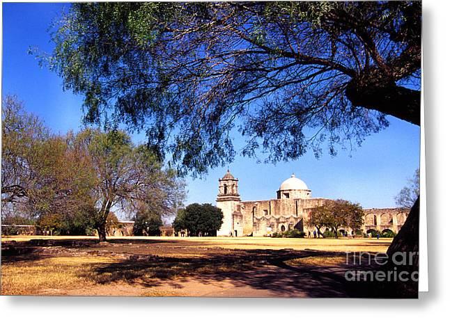 Historic San Jose Mission San Antonio Greeting Card