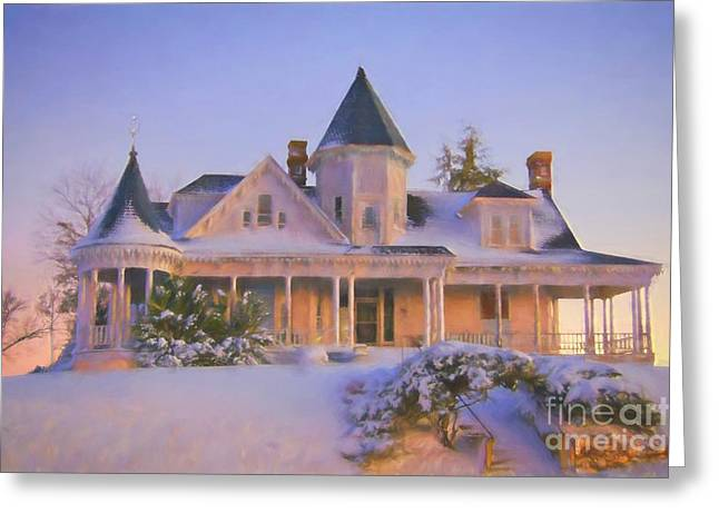 Historic Sidna Allen House Greeting Card by Benanne Stiens