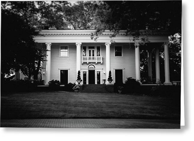 Historic Southern Home Greeting Card