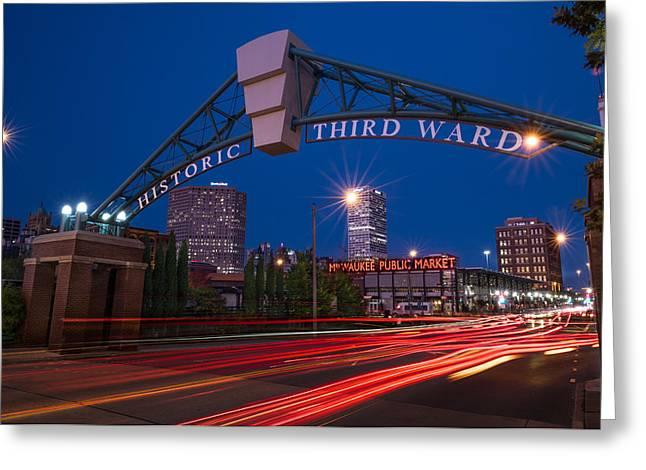 Historic Third Ward Milwaukee Greeting Card