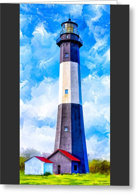 Historic Tybee Island Lighthouse Greeting Card