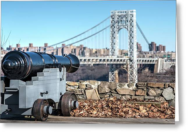 Historic View Greeting Card by Michael Santos