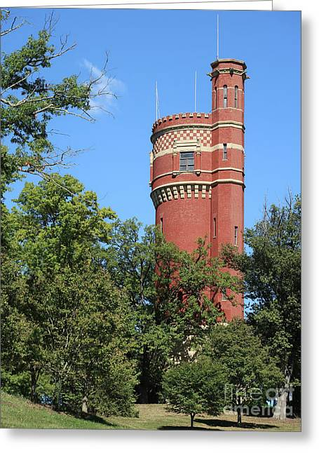 Historic Water Tower Greeting Card