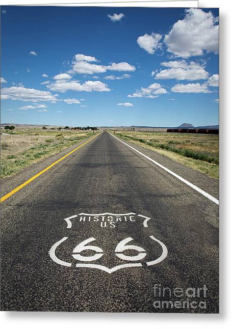Historica Us Route 66 Arizona Greeting Card