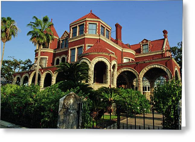 Greeting Card featuring the photograph Historical Galveston Mansion by Tikvah's Hope