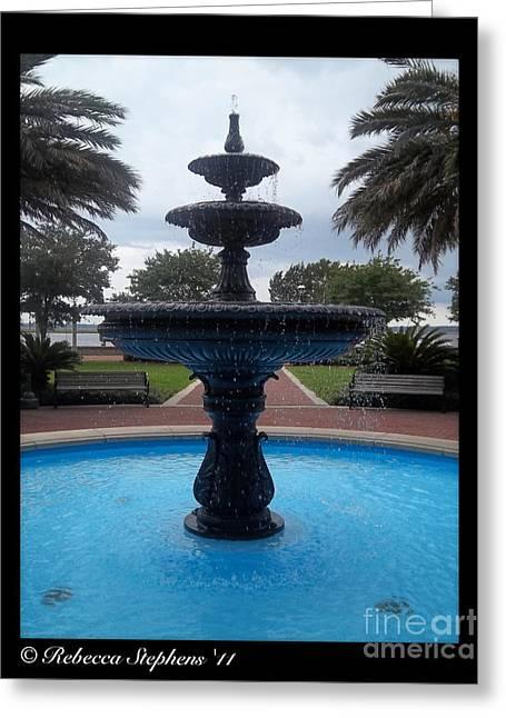 Historical Saint Marys Water Fountain Greeting Card