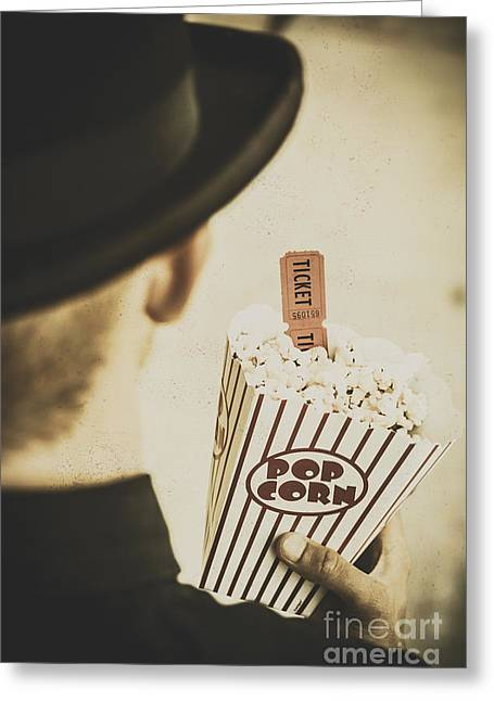 History In Film Greeting Card by Jorgo Photography - Wall Art Gallery