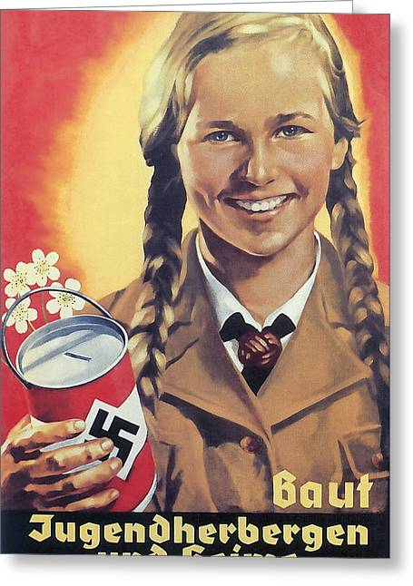 Hitler Youth C. 1938 Greeting Card