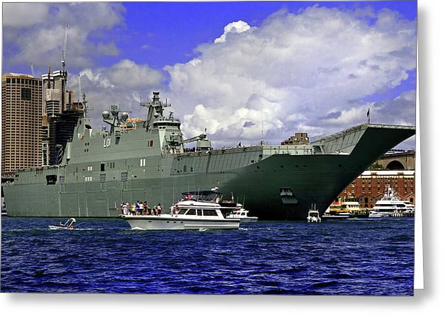 Hmas Adelaide IIi Greeting Card