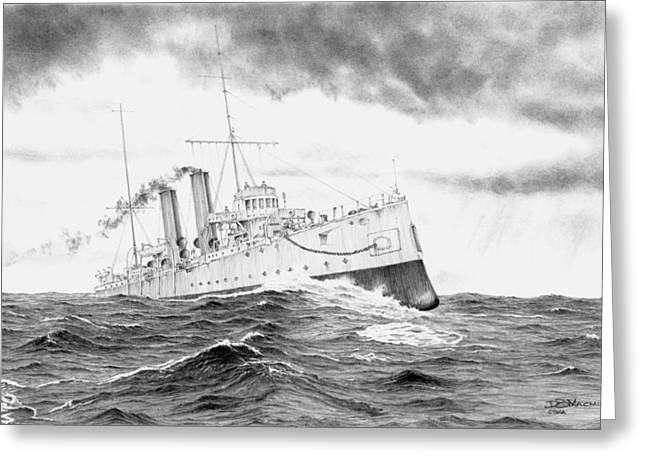 Hmcs Rainbow Greeting Card