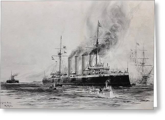 Hms Good Hope Greeting Card