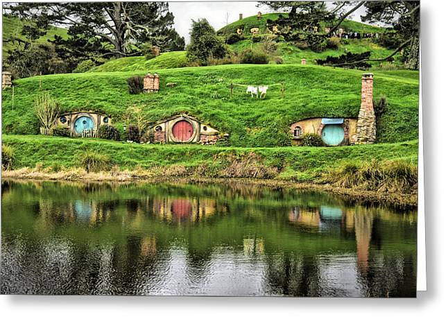 Hobbit By The Lake Greeting Card
