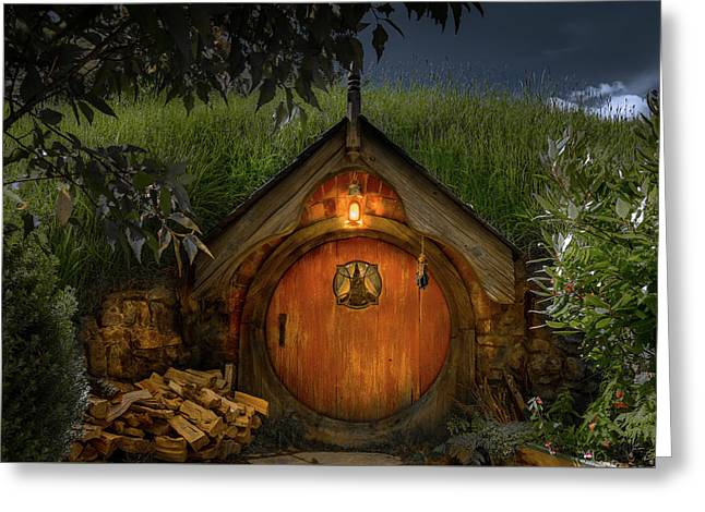 Hobbit Dwelling Greeting Card
