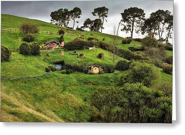 Hobbit Valley Greeting Card
