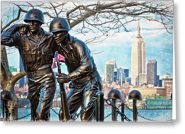 Hoboken War Memorial Greeting Card