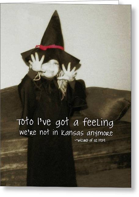 Hocus Pocus Quote Greeting Card by JAMART Photography