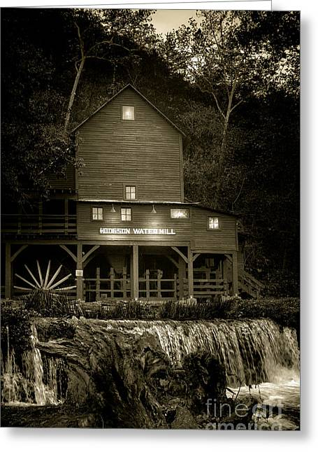 Hodgson Gristmill Greeting Card by Robert Frederick