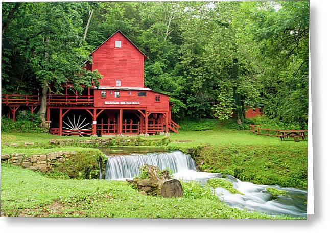 Hodgson Water Mill Greeting Card