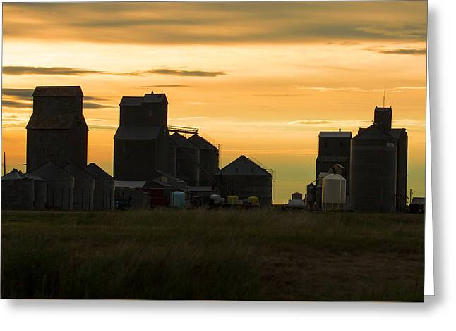 Hogeland Skyline Greeting Card