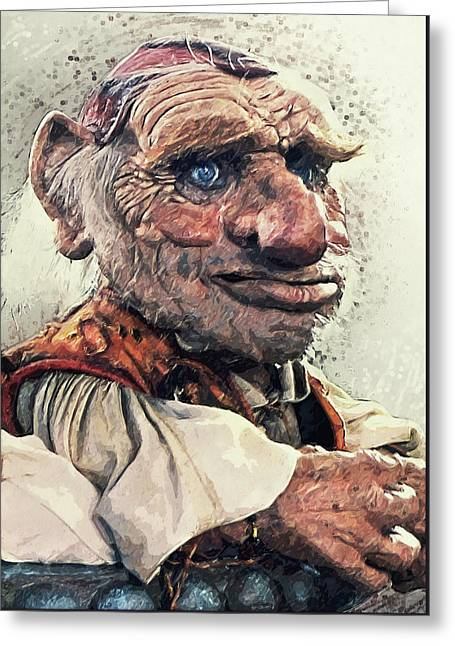 Hoggle - Labyrinth Greeting Card