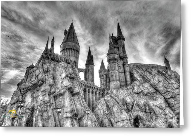 Hogwarts Castle 1 Greeting Card