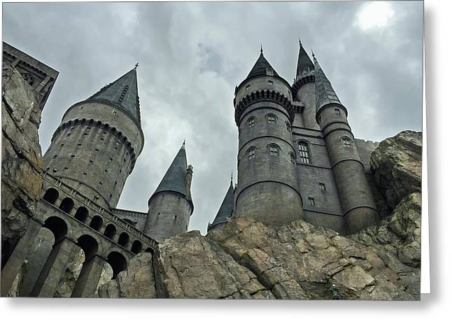 Hogwarts Castle 4  Greeting Card by Aimee L Maher Photography and Art Visit ALMGallerydotcom