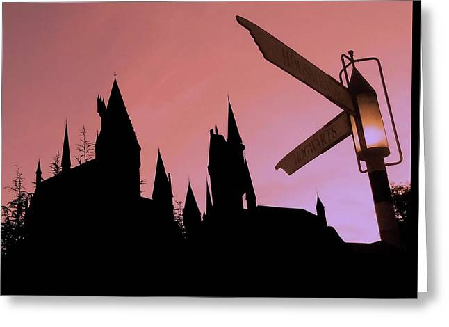 Hogwarts Castle ... Greeting Card