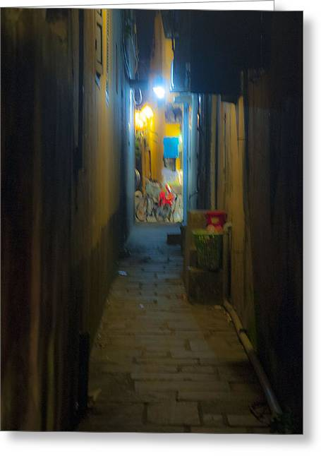 Hoi An Alleyway Greeting Card