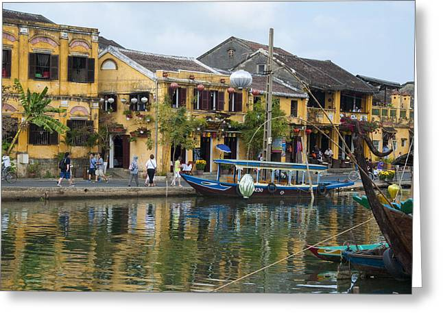 Hoi An On The River Greeting Card