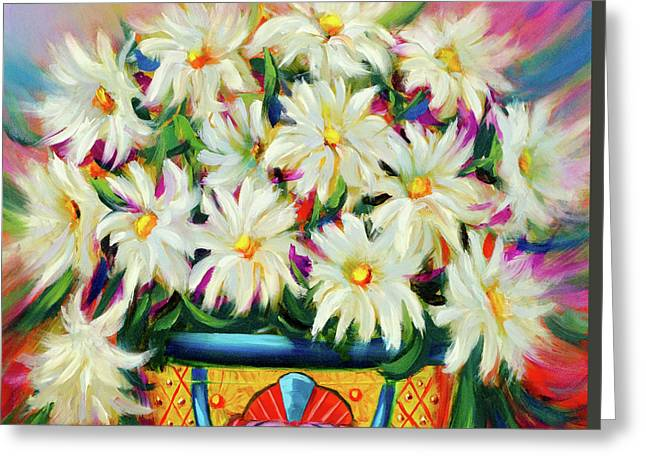 Hola Daisies Greeting Card