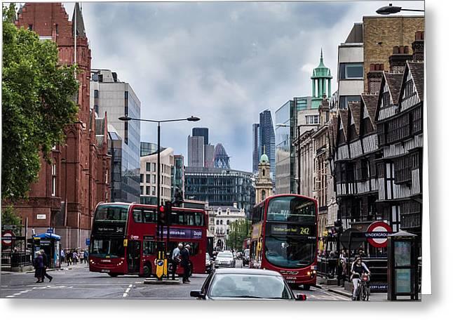 Holborn - London Greeting Card