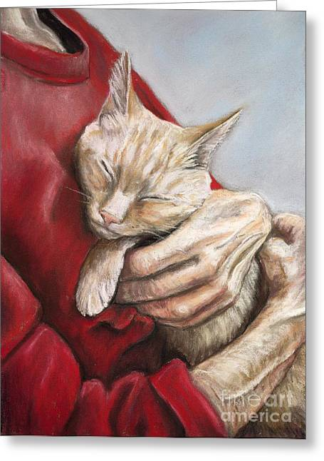 Hold Me Tight Greeting Card by Charlotte Yealey