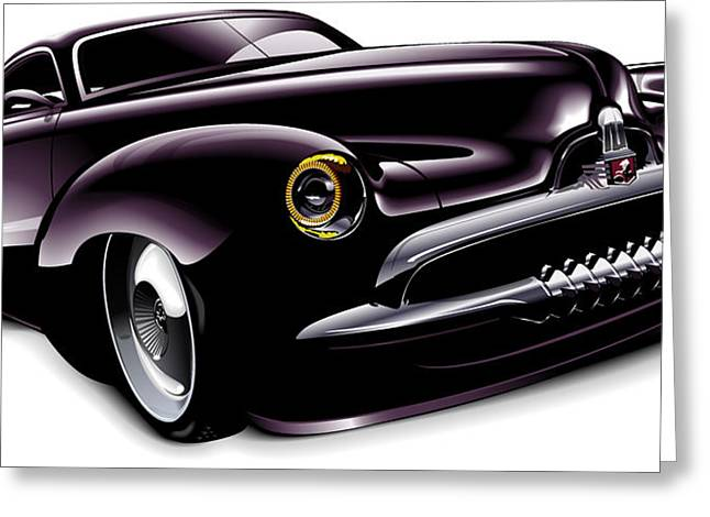 Holden Concept Car Greeting Card