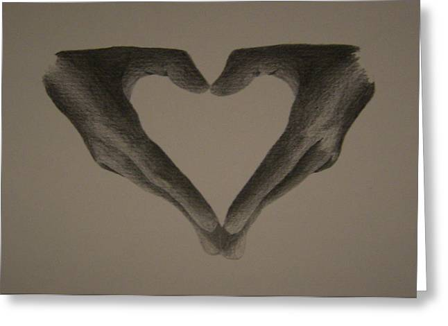 Holding Love Greeting Card by Martijn Opsomer