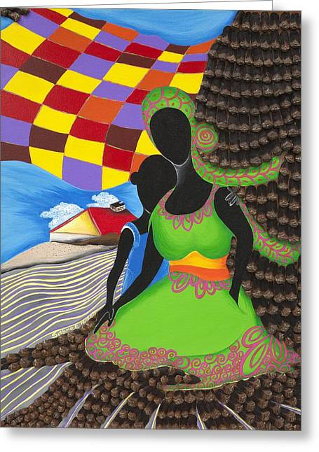 Holding On Greeting Card by Patricia Sabree