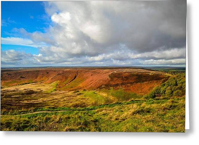 Hole Of Horcum, North York Mores, Yorkshire, United Kingdom Greeting Card