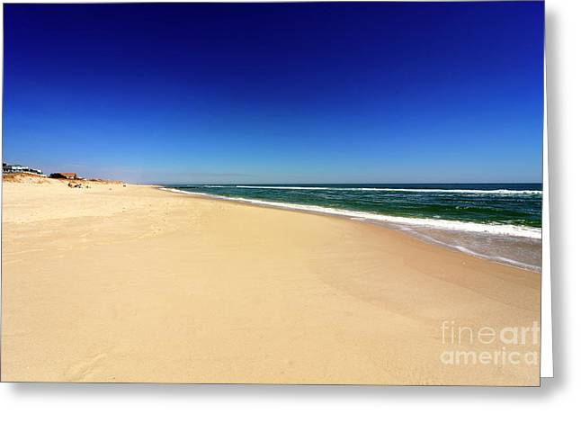 Holgate Beach At Long Beach Island Greeting Card