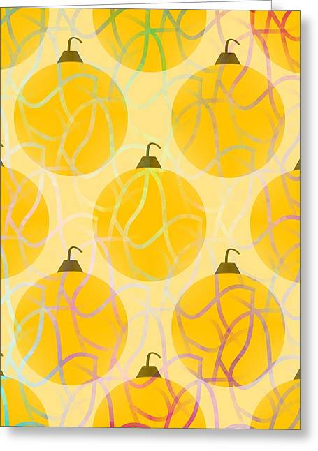 Holiday Bling Greeting Card by Kathleen Sartoris
