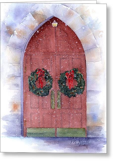 Holiday Chapel Greeting Card