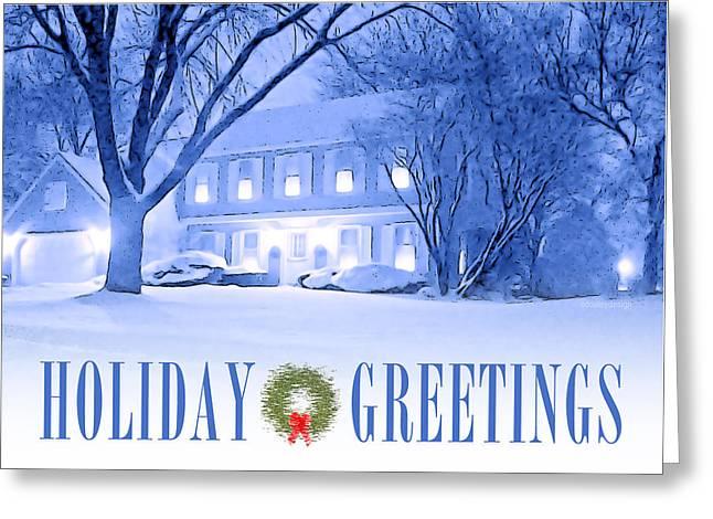 Holiday Greetings Card Greeting Card