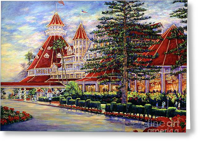 Holiday Hotel 2 Greeting Card