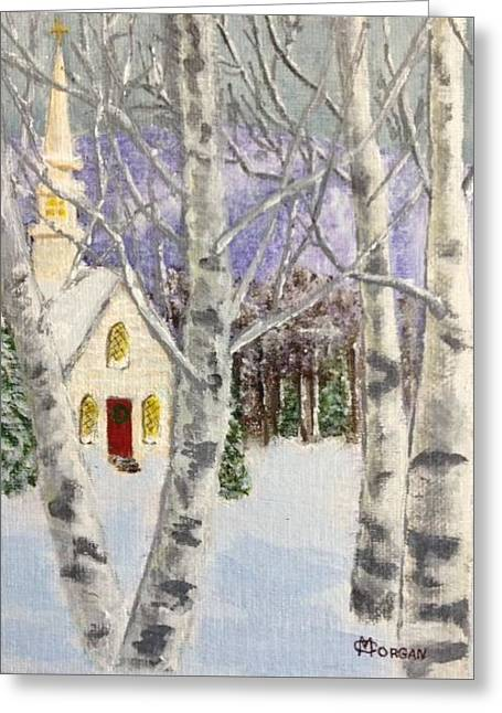 Holiday In The Country Greeting Card