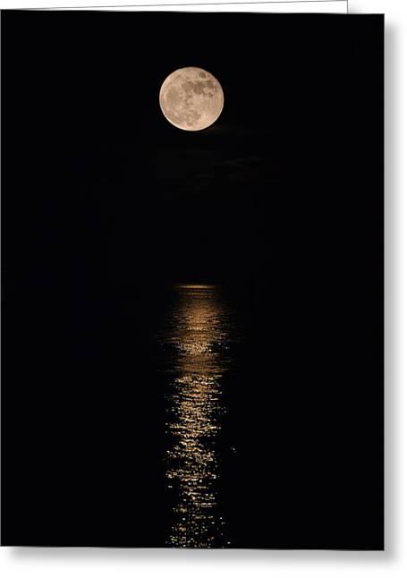 Holiday Magic - Lunar Art Greeting Card