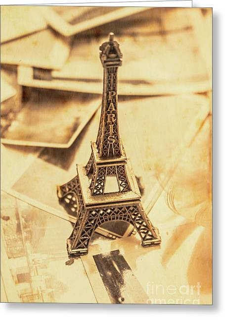 Holiday Nostalgia In Vintage France Greeting Card