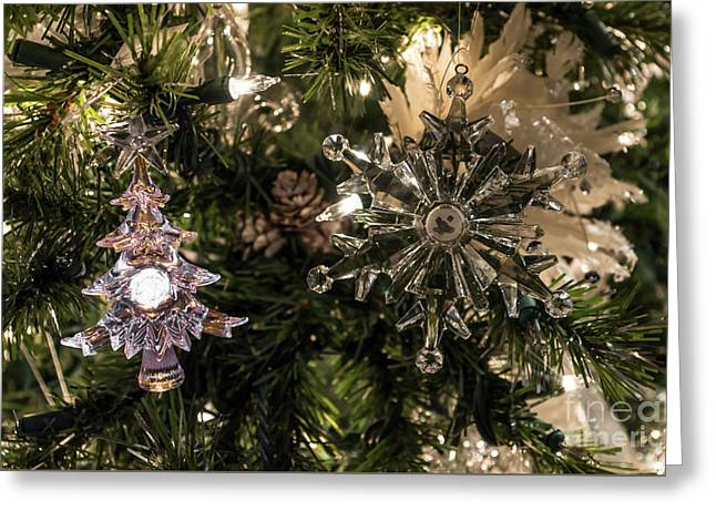 Holiday Ornaments Greeting Card by Jennifer White