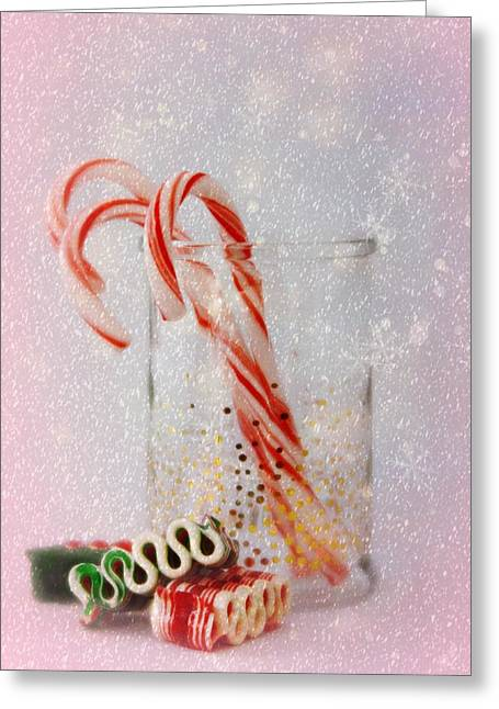 Greeting Card featuring the photograph Holiday Sweets by Diane Alexander