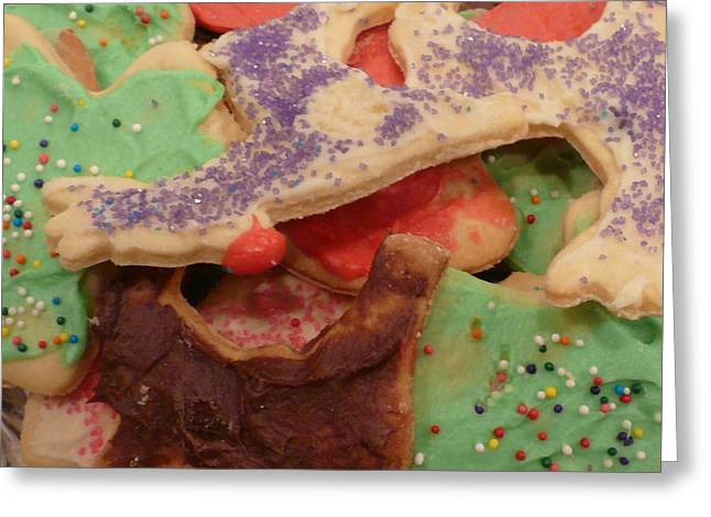Holiday Treats Greeting Card by Connie Young